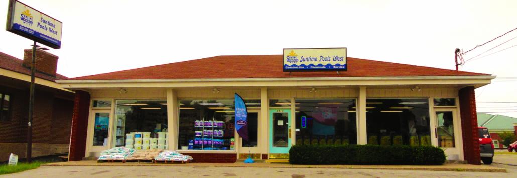 suntime pools west Crestwood storefront