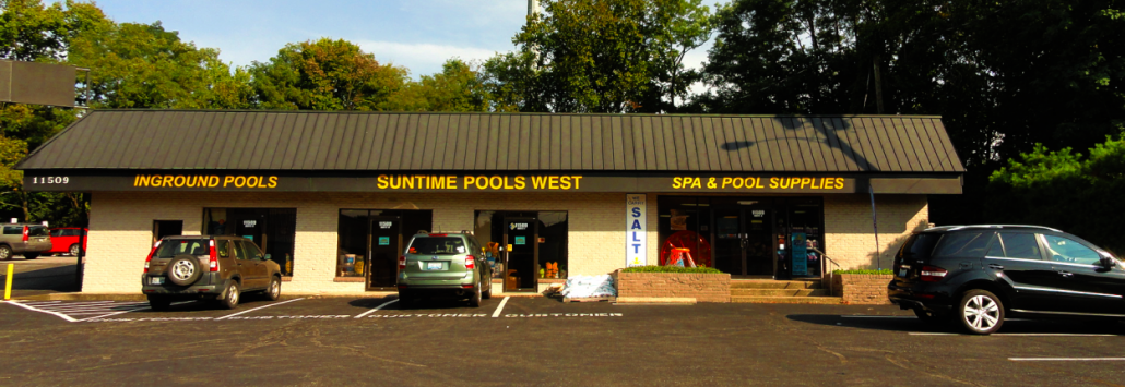 suntime pools west Middletown storefront