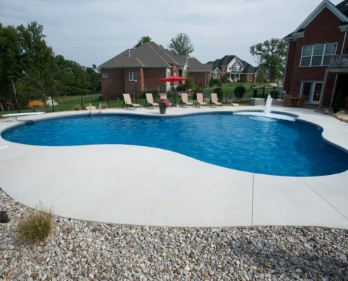 A large Freeform pool