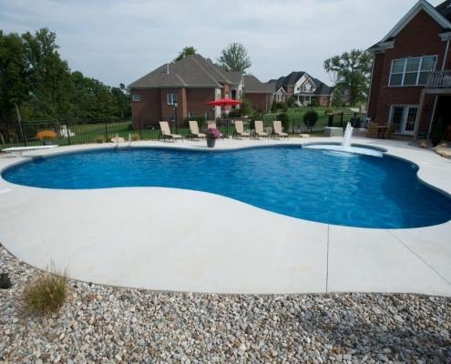 A large Freeform pool